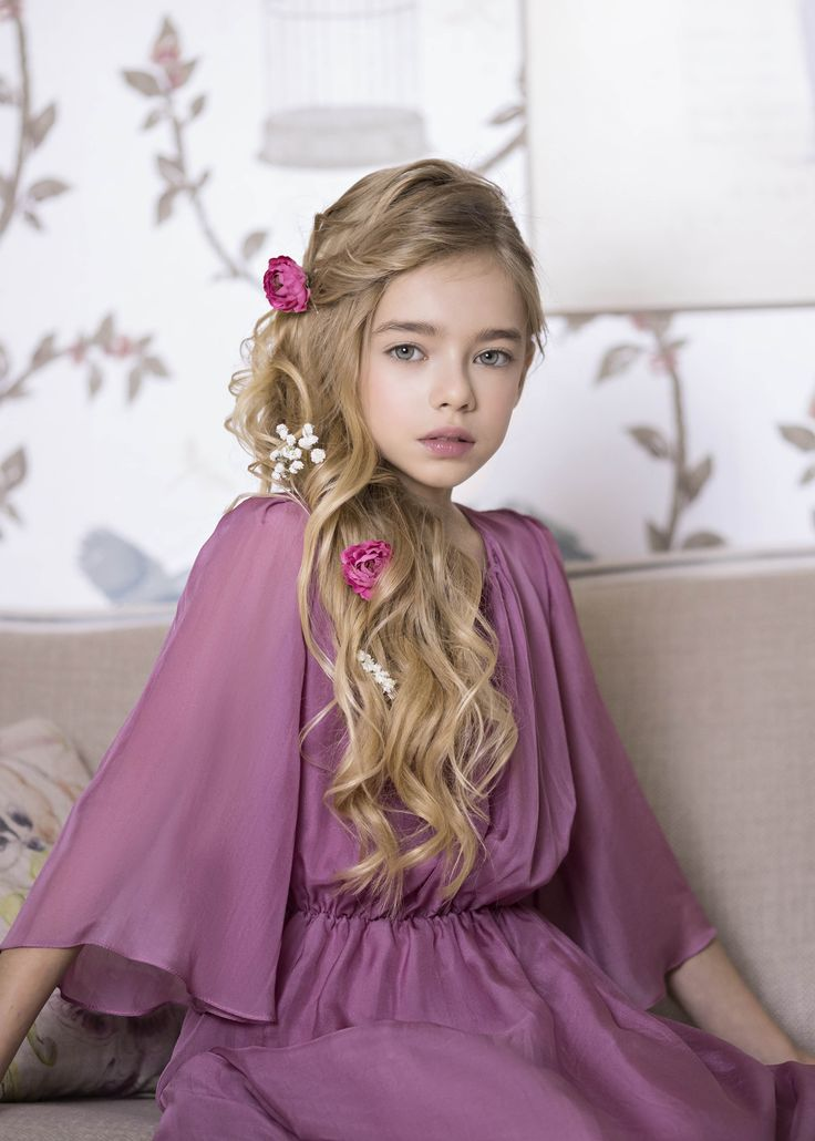 Meduse silk dress from Amelie et Sophie...
