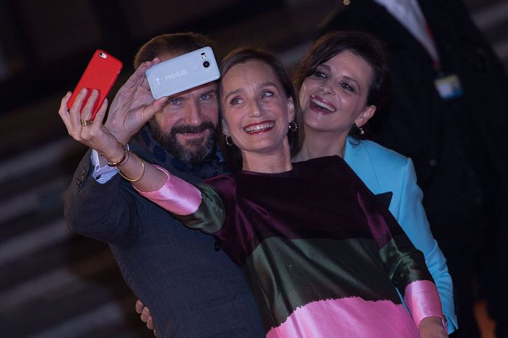 Ralph Fiennes, Juliette Binoche and Kristin Scott Thomas a red carpet for 'The English Patient - Il Paziente Inglese' during the 11th Rome Film Festival at Auditorium Parco Della Musica on October 22, 2016 in Rome, Italy