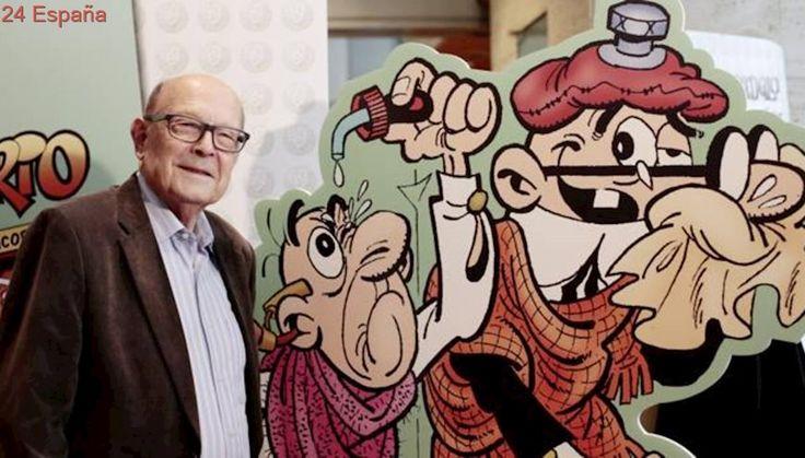 Francisco Ibáñez: «Si algo me hubiera gustado en este mundo es saber dibujar»