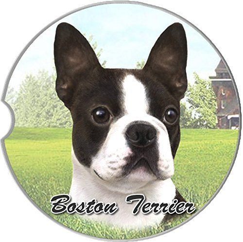 EandS Pets Boston Terrier Coaster, 3' x 3' ** Check out this great product. (This is an affiliate link and I receive a commission for the sales)