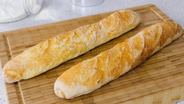 Reteta Bagheta frantuzeasca - JamilaCuisine