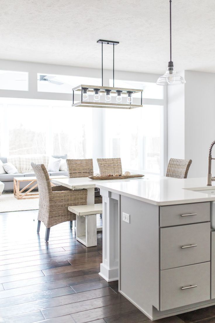 My White Modern Farmhouse Dream Kitchen in 2020 (With