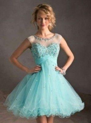imagenes de vestidos de 15 años color azul