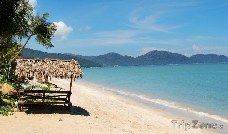 Fotka, Foto Pláž Batu Ferringhi na ostrově Penang (Malajsie)