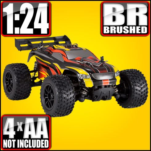 Redcat Racing Sumo RC 1/24 Scale Electric RC Truck $59.99 http://hobbyzobby.com/product/redcat-racing-sumo-rc-124-scale-electric-rc-truck-allcolors