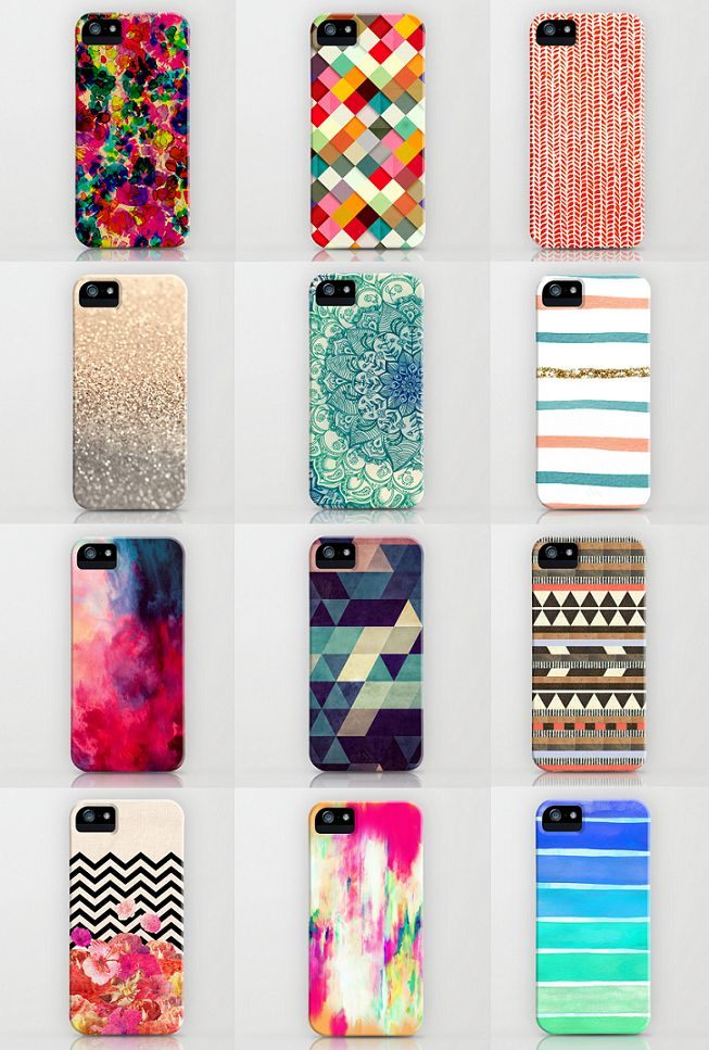 Best of the Best! 12 lovely iPhone cases from Society6.