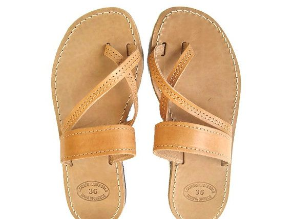 Womens sandals Greek sandals Leather sandals Greek by OhSoGreek