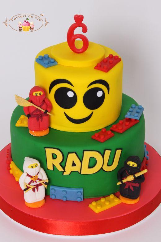 Tort Lego pentru Radu