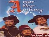 Amar Akbar Anthony : Lyrics and video of Songs from the Movie Amar Akbar Anthony (1977)