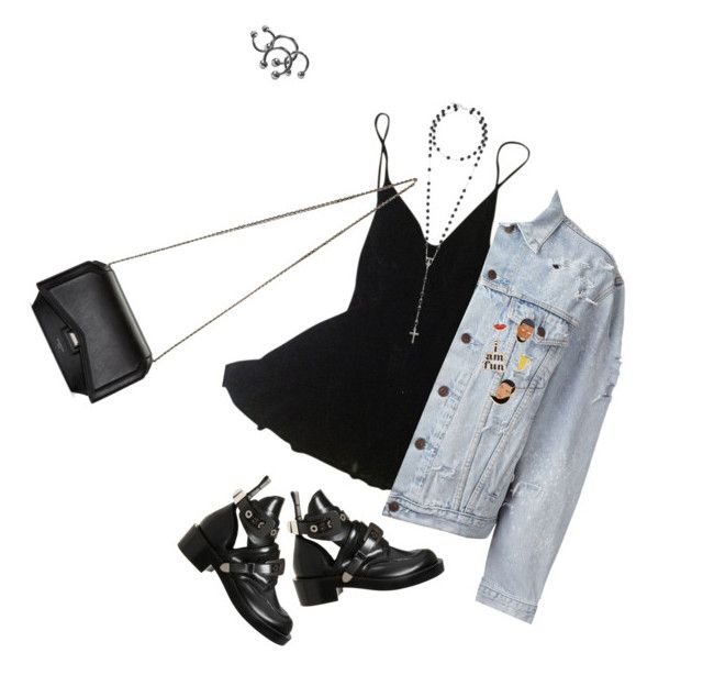 """""""pin me up"""" by mariangelacolangelo ❤ liked on Polyvore featuring Katharine Hamnett, Forte Couture, Givenchy, Balenciaga, ban.do and Georgia Perry"""