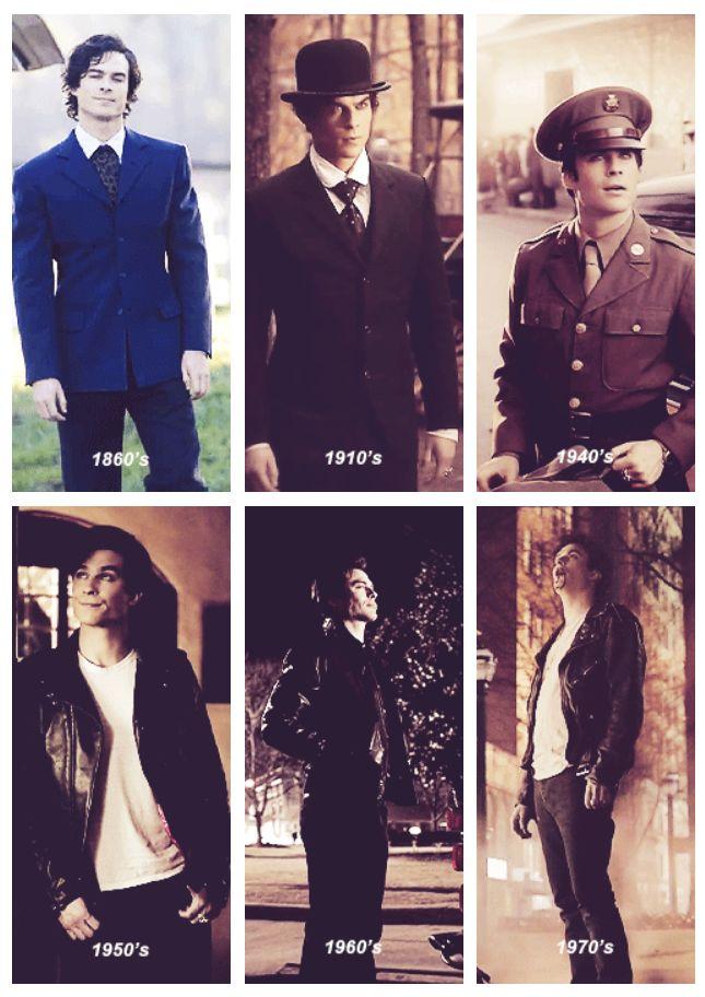 Damon thru the years . . .