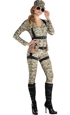 Military Costumes for Women - Army Costumes & Army Girl Costumes - Party City