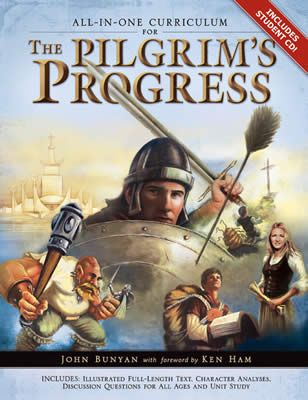 The Pilgrim's Progress, All-In-One Curriculum...Great for homeschool, family devotions, Sunday schools, and personal or small group studies! Includes reproducible student pages on bonus CD-ROM. Ages 2 and up