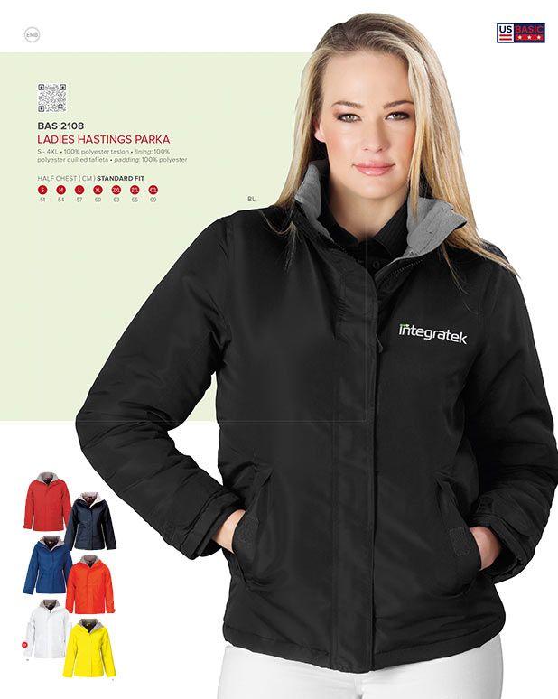 US Basic Ladies parka jackets