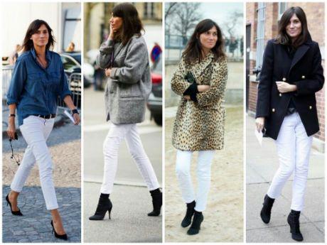 Pantalones blancos en invierno ¿Por qué no?   Belleza