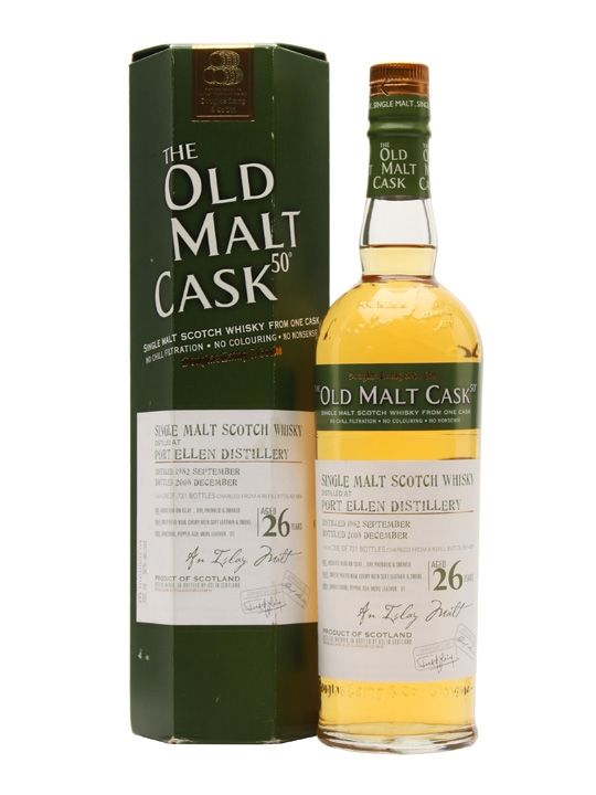 A single cask bottling of Port Ellen 1983 from Douglas Laing for their Old Malt Cask range.  This is from a single refill butt.