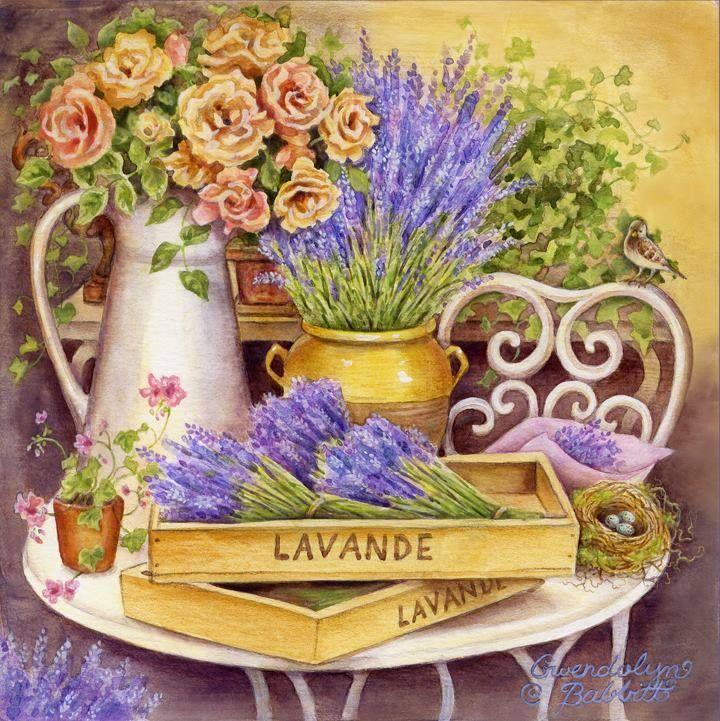 """""""Lavender"""" by Gwendolyn Babbitt"""