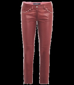 Zoltan Star-Stud Leather Trousers  by Isabel Marant  #Matchesfashion