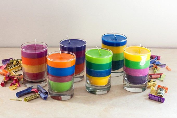 Looking for a simple idea of what to do with all those old , broken and no longer used crayons? Look no further we found a simple and useful idea over at Adventures in Making blog: DIY Crayon Candles. To create these colorful candles you will need only a few supplies and a microwave • …