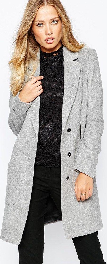 Primavera otoño moda mujer chaleco y chaleco gris mujer
