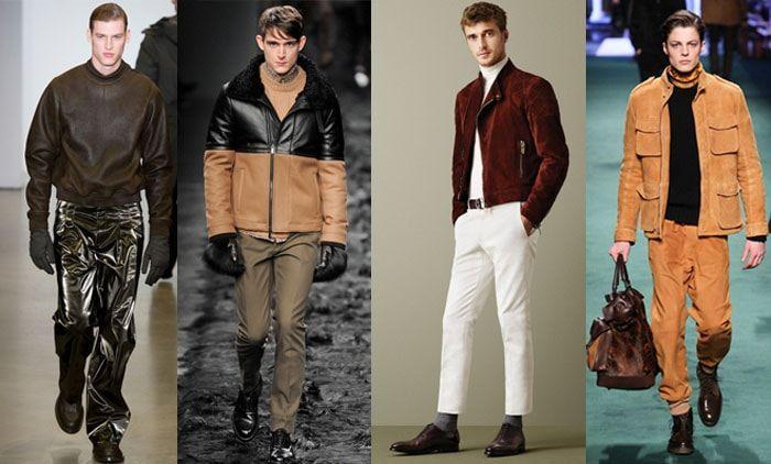 Модные мужские кожаные куртки 2016-2017