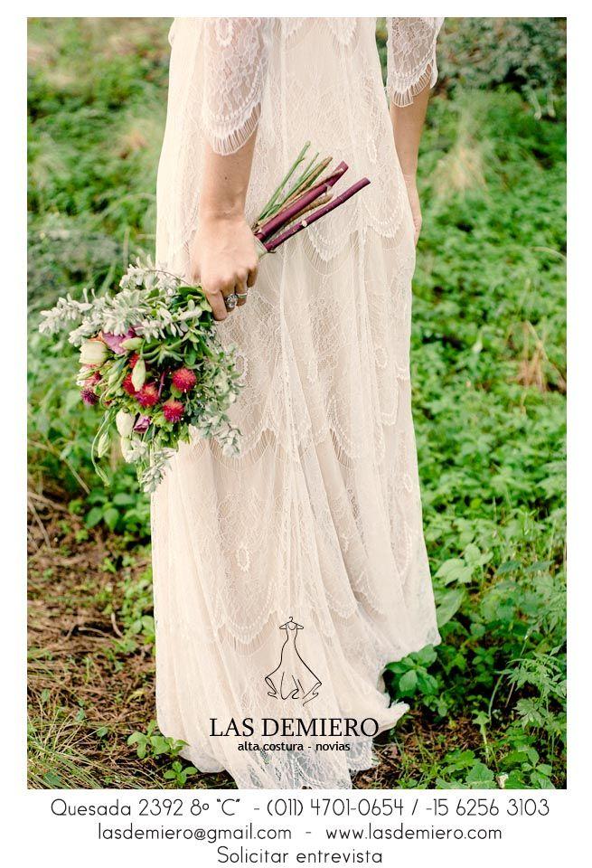 www.lasdemiero.com https://web.facebook.com/demiero/ #lasdemiero #bodas #novias #vestidodenovia #vestidossirena #vestidosbordados #casamientos #noviavintage