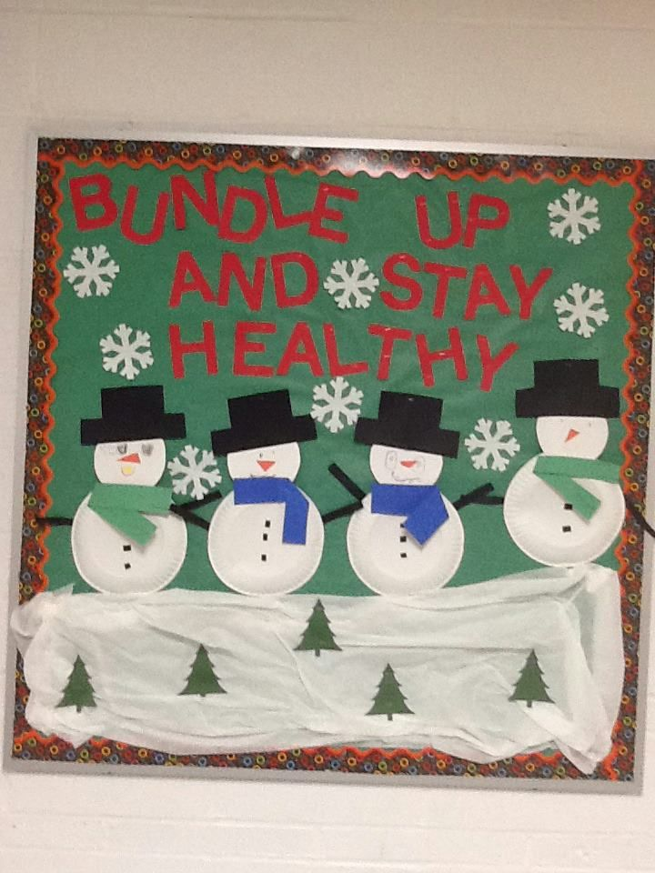Click For Several School Nurse Bulletin Board Examples