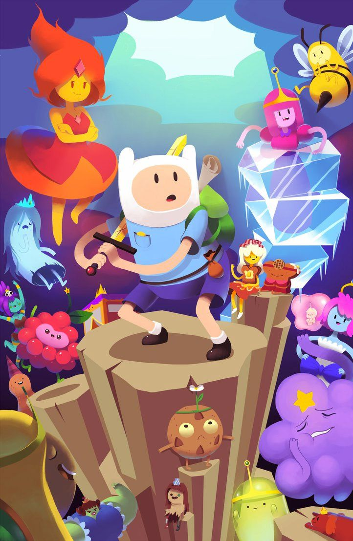 Fan Art Friday: It's Adventure Time! by techgnotic on DeviantArt