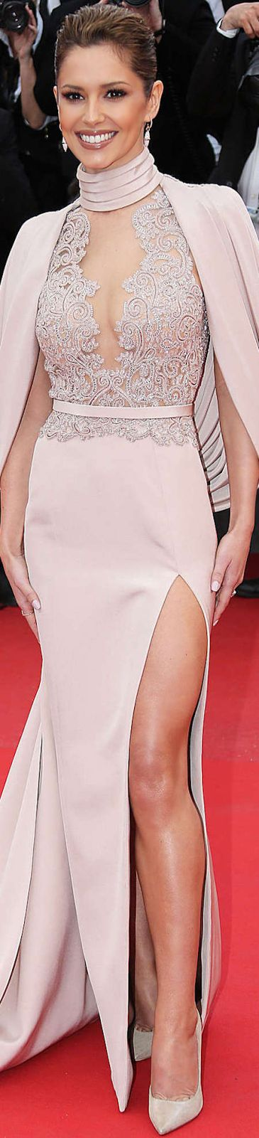 Cheryl Cole in Ralph & Russo Couture 2015 Cannes Film Festival