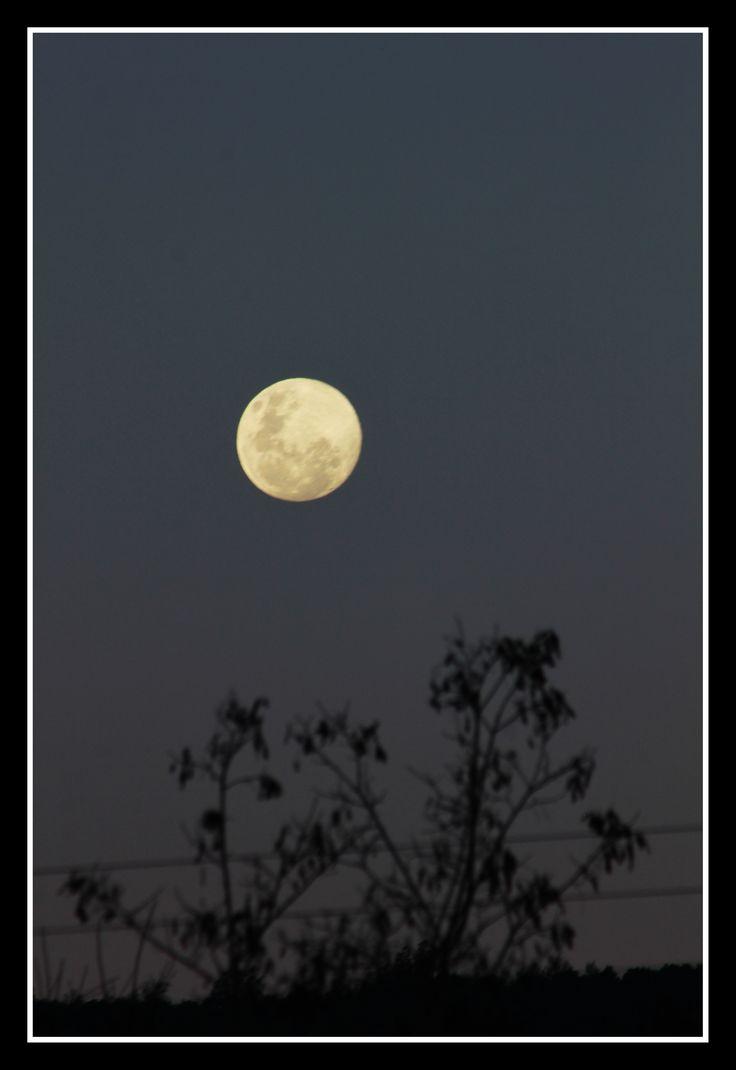 luna llena en Pomaire
