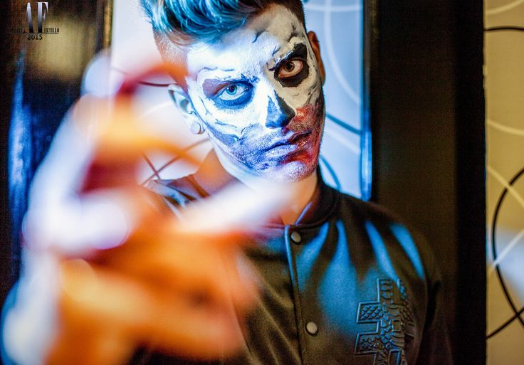 Skull Make up. Scary halloween Makeup! Il tuo trucco per Halloween