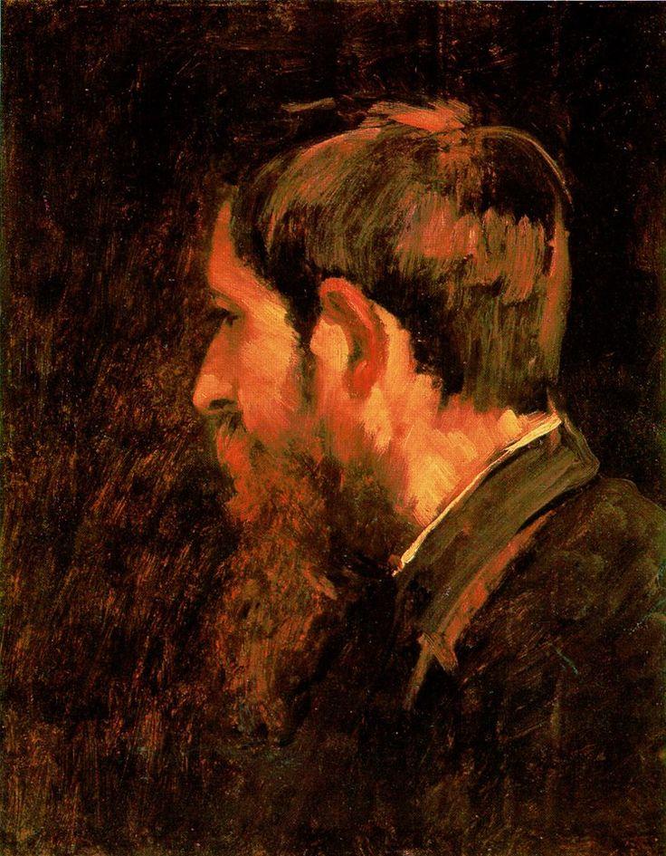 Munkácsy Mihály (1844-1900) - Paál László festő portréja -