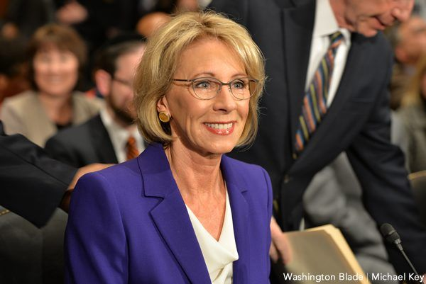 nice DeVos meets with LGBT groups over trans student protections Check more at https://epeak.info/2017/03/09/devos-meets-with-lgbt-groups-over-trans-student-protections/