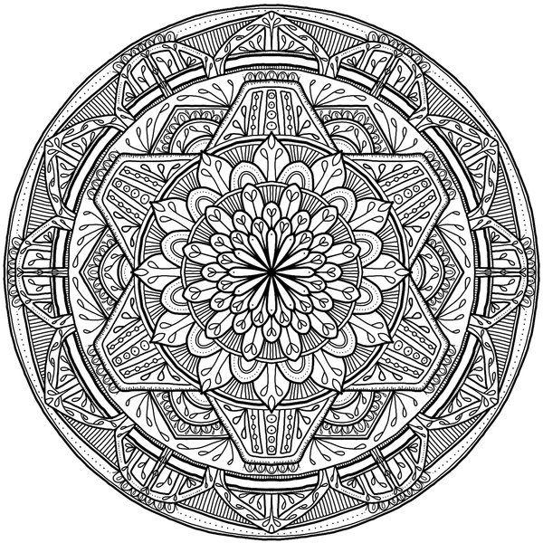 Krita Circles Mandala 7 by WelshPixie