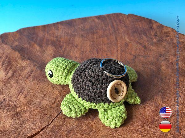 turtle keychains crochet pattern amigurumi