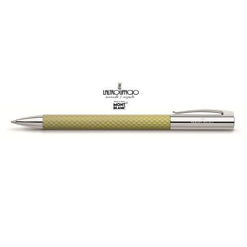 147020  FABER CASTELL ROLLER AMBITION OpArt  SC15% COLORE  CURRY