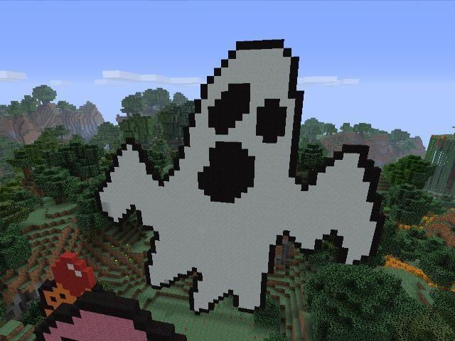 minecraft halloween films