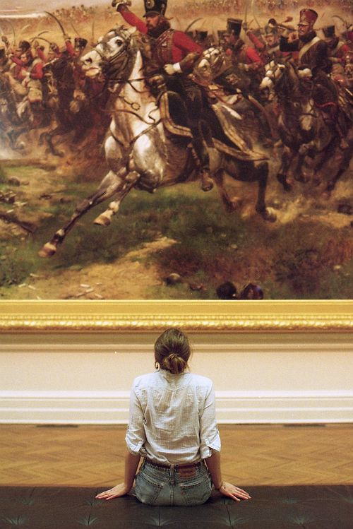 Perfect, I would love to do this! Just sit in an art museum for hours.