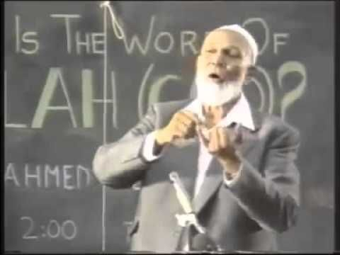 Sheikh Ahmed Deedat - To All Christians - Make up your mind