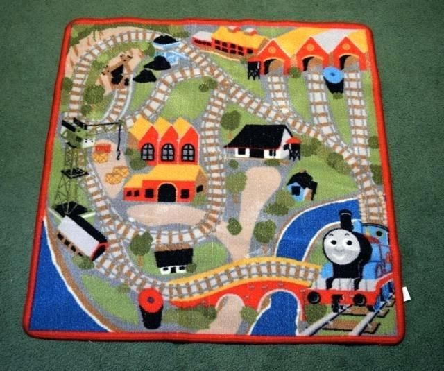 Thomas The Train Play Rug Uniquely Modern Rugs