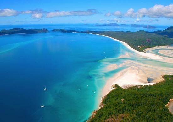 Whitehaven Beach is the top beach in Australia! About time! Trip Advisor Top 10 Beaches - Australia!