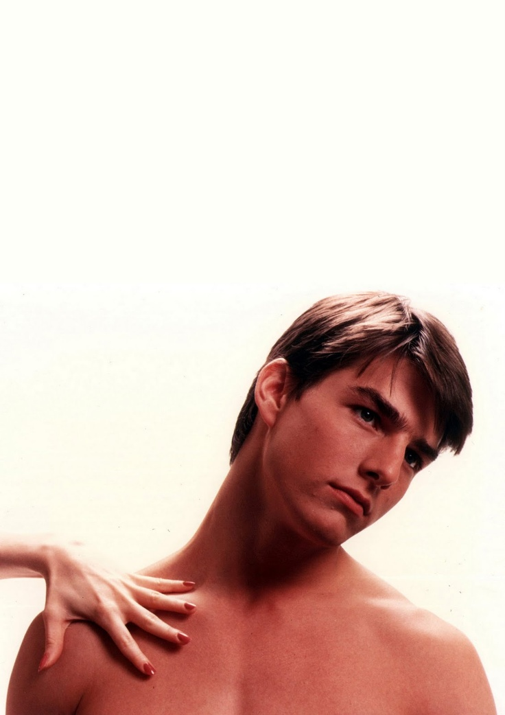 Tom Cruise in Risky Business.