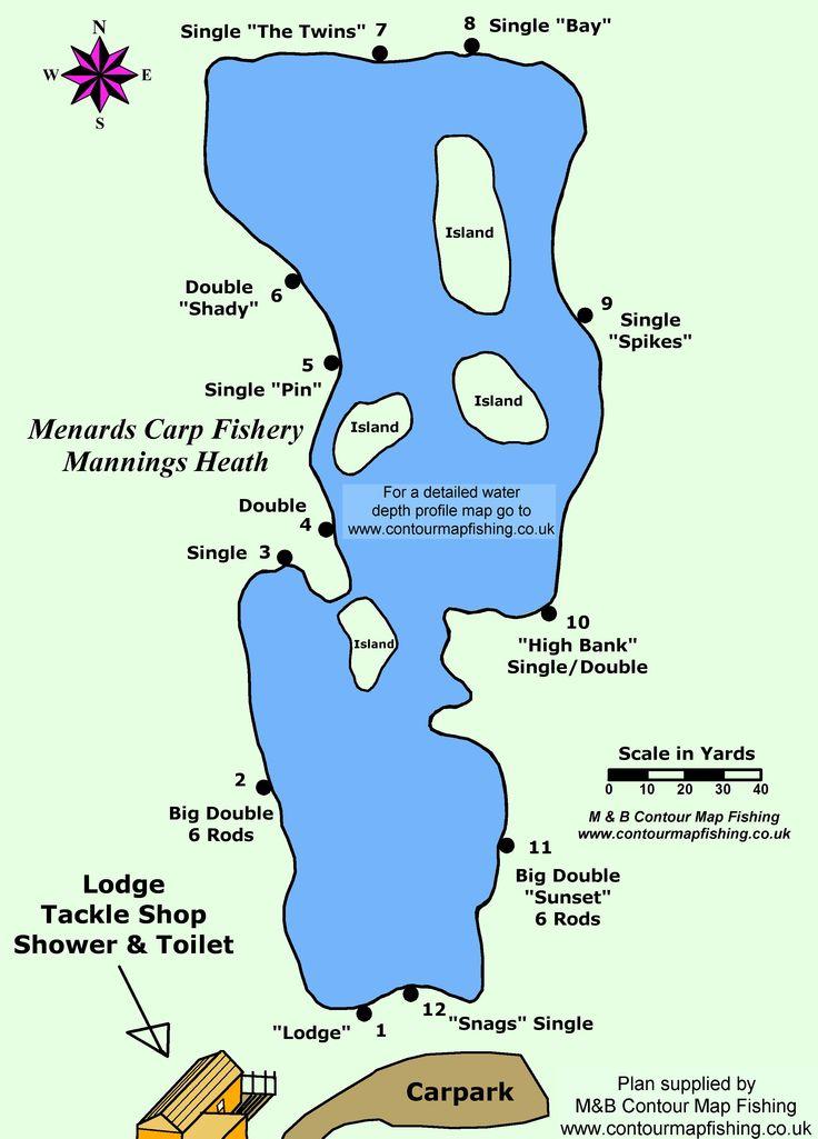 Menards Carp Fishery - http://carpfish.co.uk/listings/menards-carp-fishery/