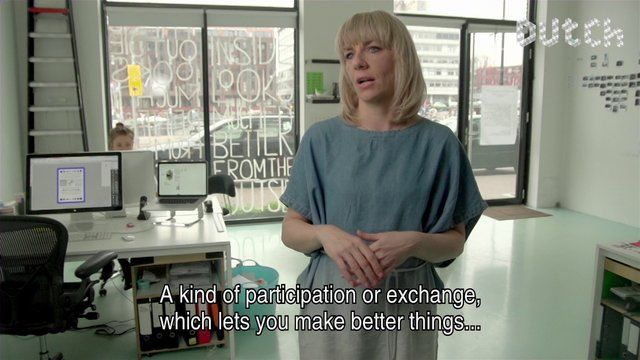 DutchDFA video interview with the funny and talented Dutch graphic designer Roosje Klapat, Her studio researches the experimental boundaries of custom fit design, where a letter type can be unreadable, a book can turn out to be a sculpture and a stamp can become a drawing-by-numbers-drawing.