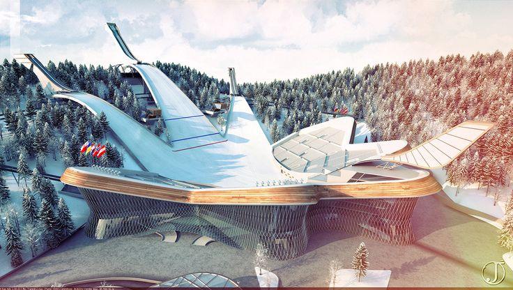 Ski Jump complex by Jacek.
