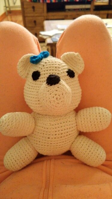 Teddy I made for my niece.