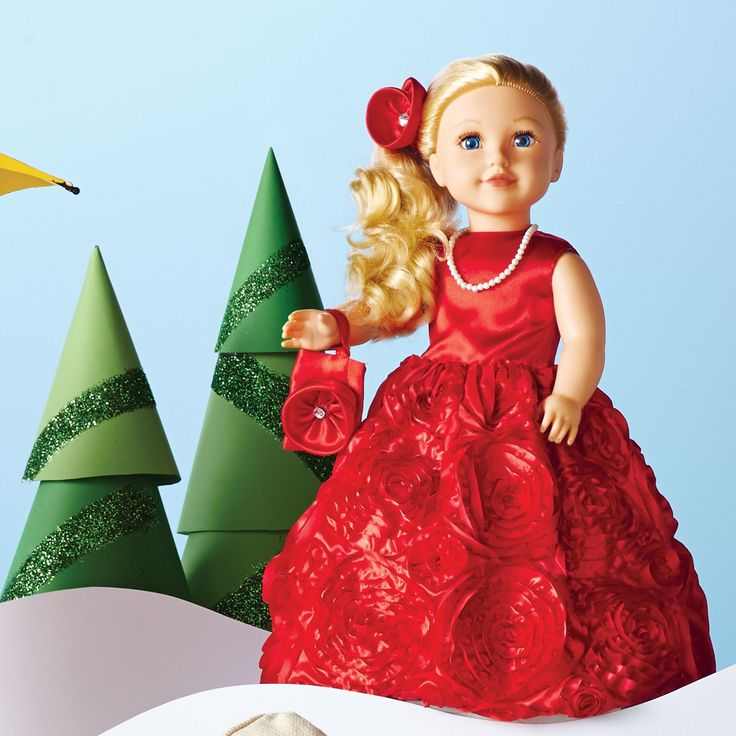 Newberry Special Edition Holiday Doll  #SearsWishlist