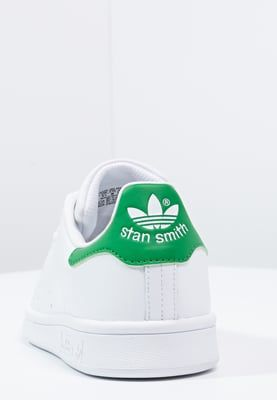 adidas Originals STAN SMITH - Sneakers - running white/green - Zalando.se