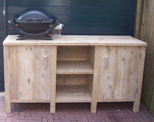 Buitenkeuken Van Steigerhout/sloophout NIEUWE MODELLEN te Koop Aangeboden op Tweedehands.net