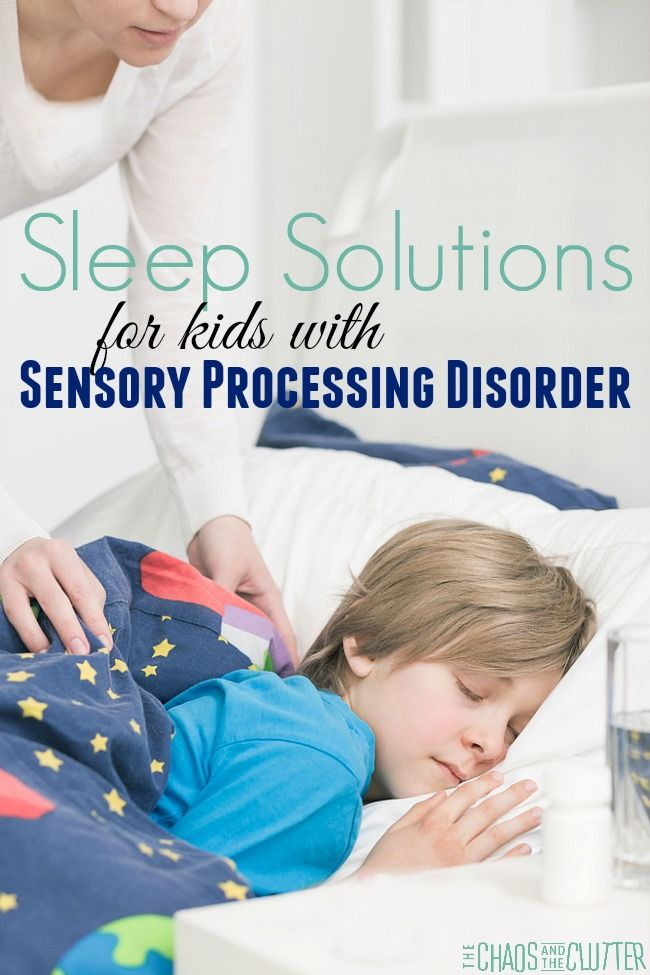 Sleep Solutions for Children with Sensory Needs
